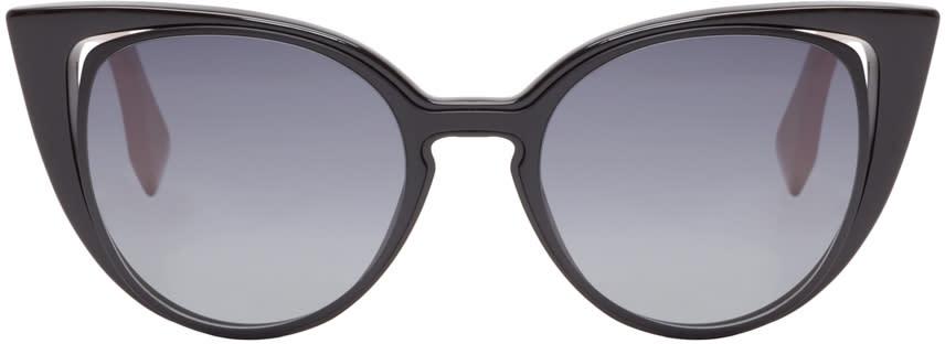Fendi Black Cat-eye Sunglasses
