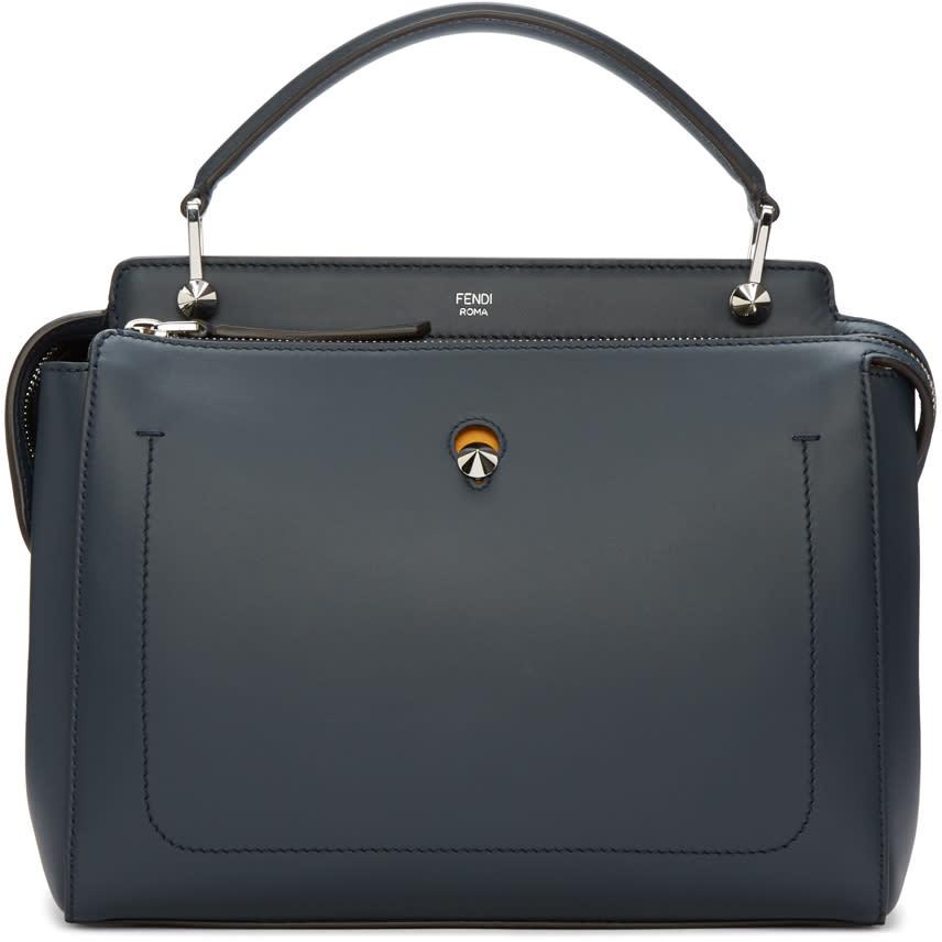 Fendi Navy Dotcom Bag