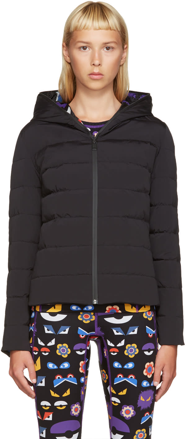 Fendi Black Reversible Down Coat