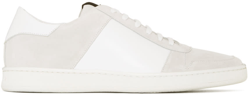 Palm Angels White Retro Sneakers
