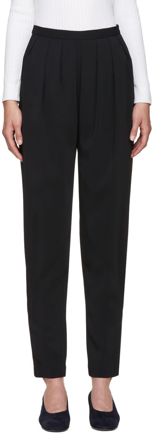 Rosetta Getty Black Sarouel Trousers