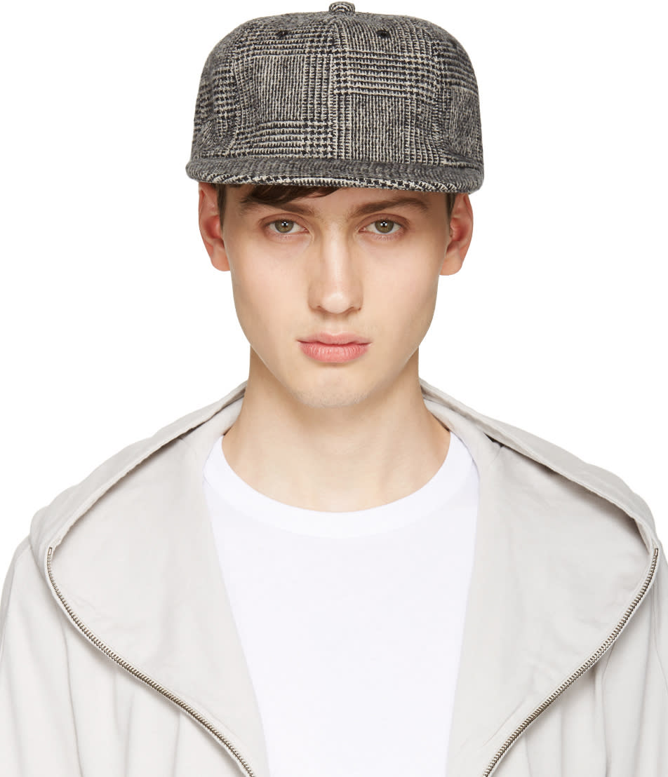 Attachment Black Houndstooth Cap