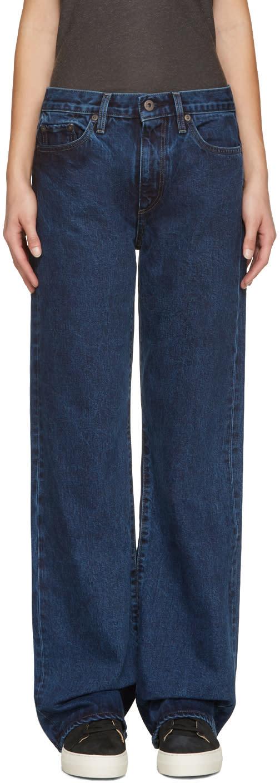 Simon Miller Navy W006 Durant Jeans