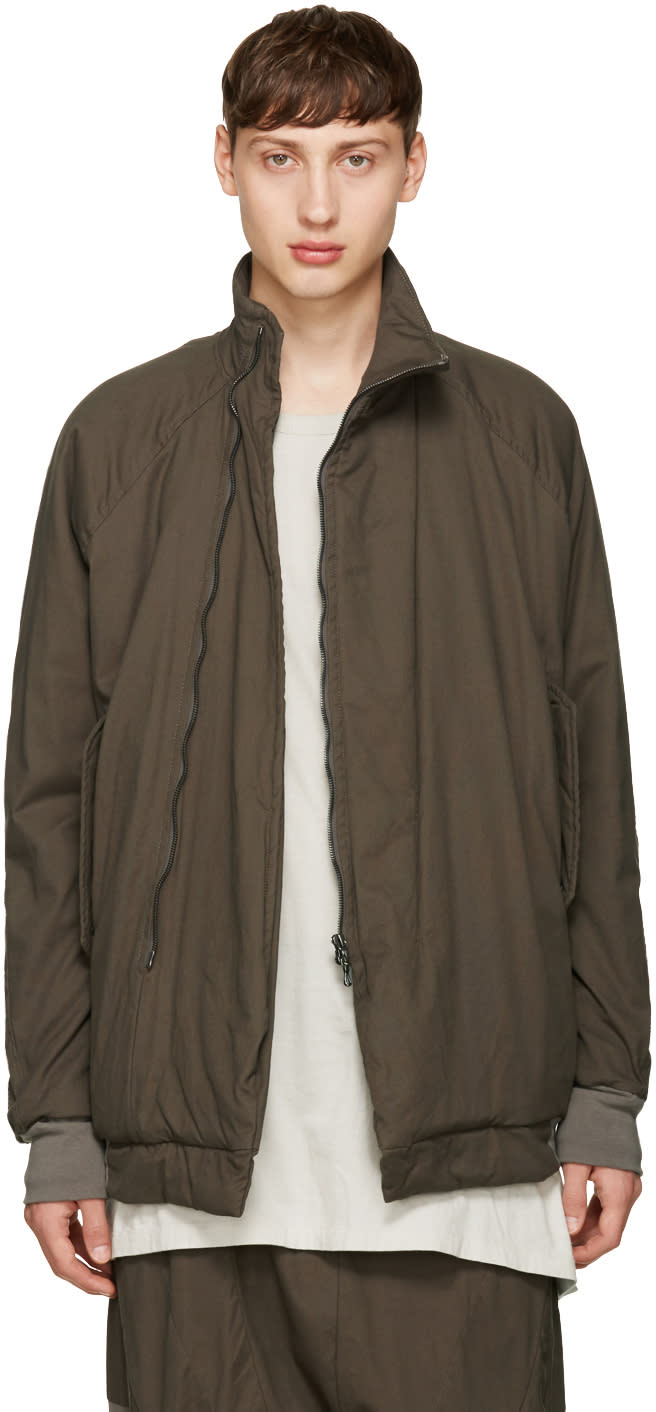 Nilos Khaki Padded Jacket