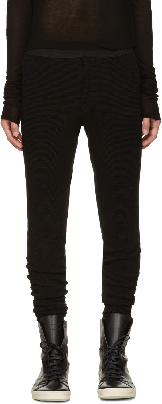 Nilos Black Sarouel Lounge Pants