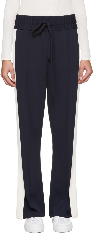Atea Oceanie Navy Crepe Lounge Pants