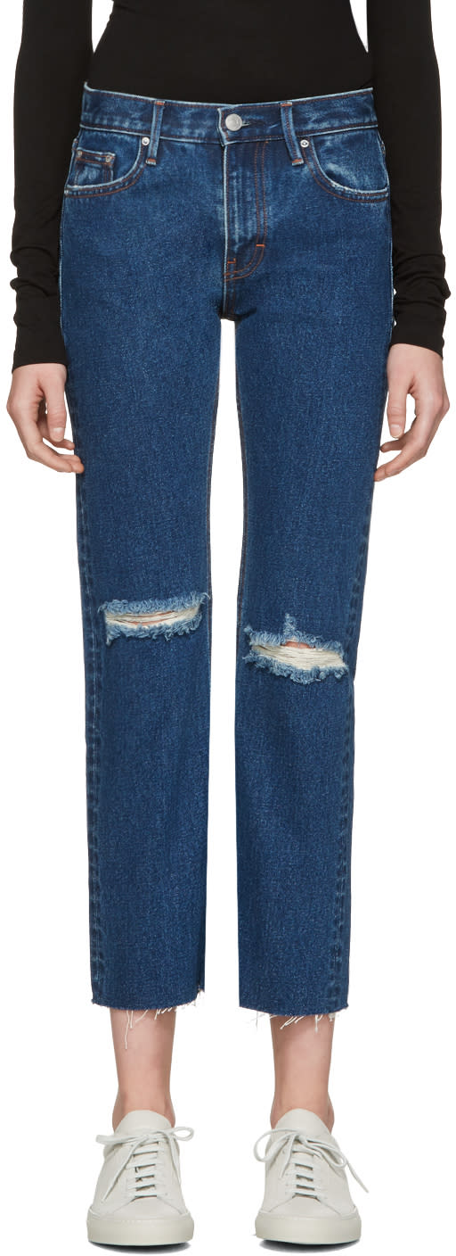 Image of Earnest Sewn Blue Victoria Jeans