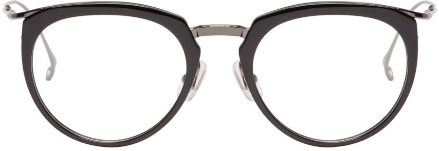 Issey Miyake Men Black Boston Glasses