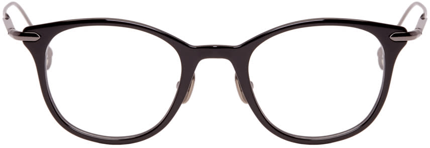 Issey Miyake Men Black Wellington Ii Glasses