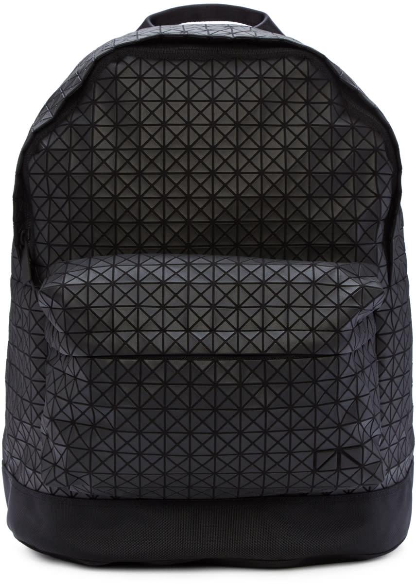 Bao Bao Issey Miyake Black Matte Geometric Backpack