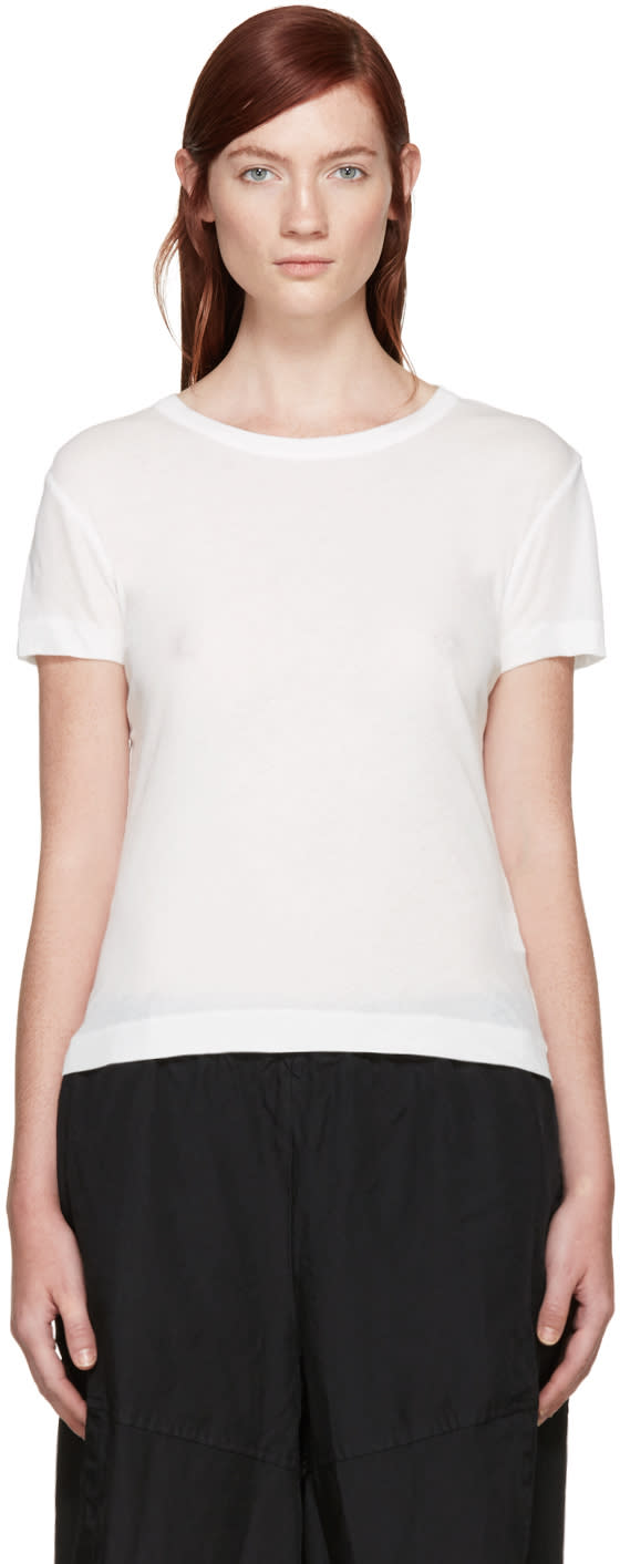 Ys White Jersey T-shirt