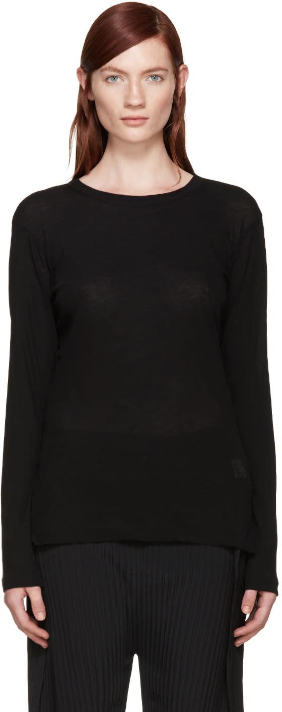 Ys Black Jersey T-shirt