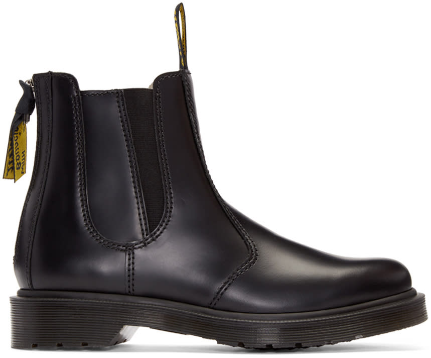 Ys Black Dr. Martens Edition Chelsea Boots