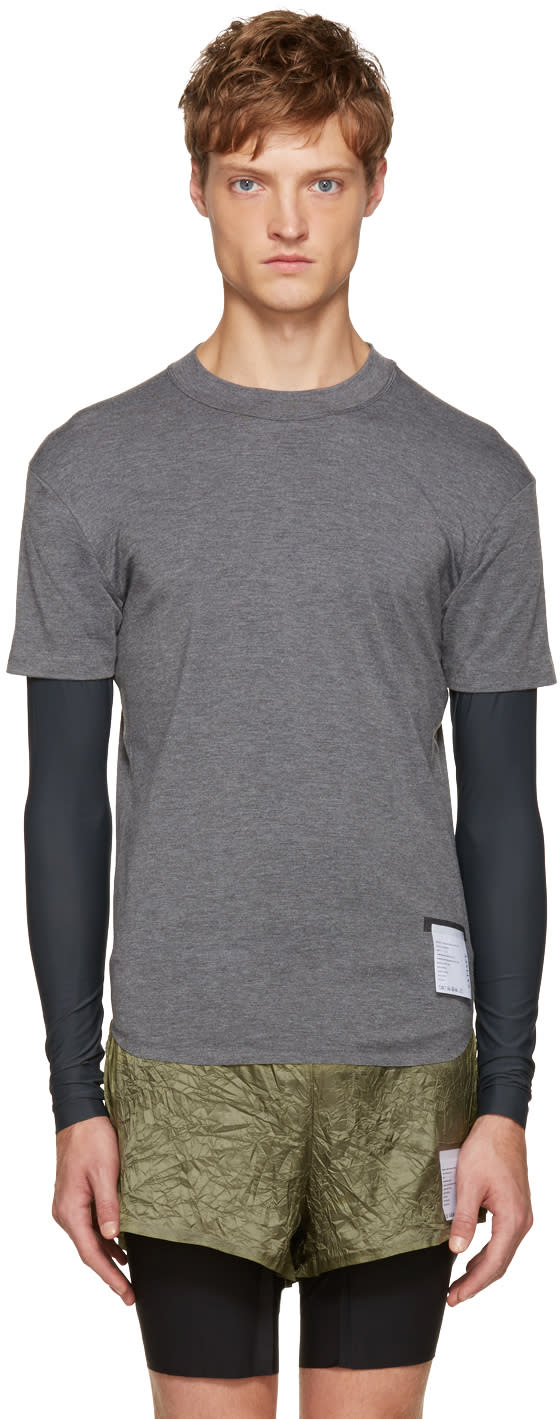Satisfy Grey Long Distance T-shirt