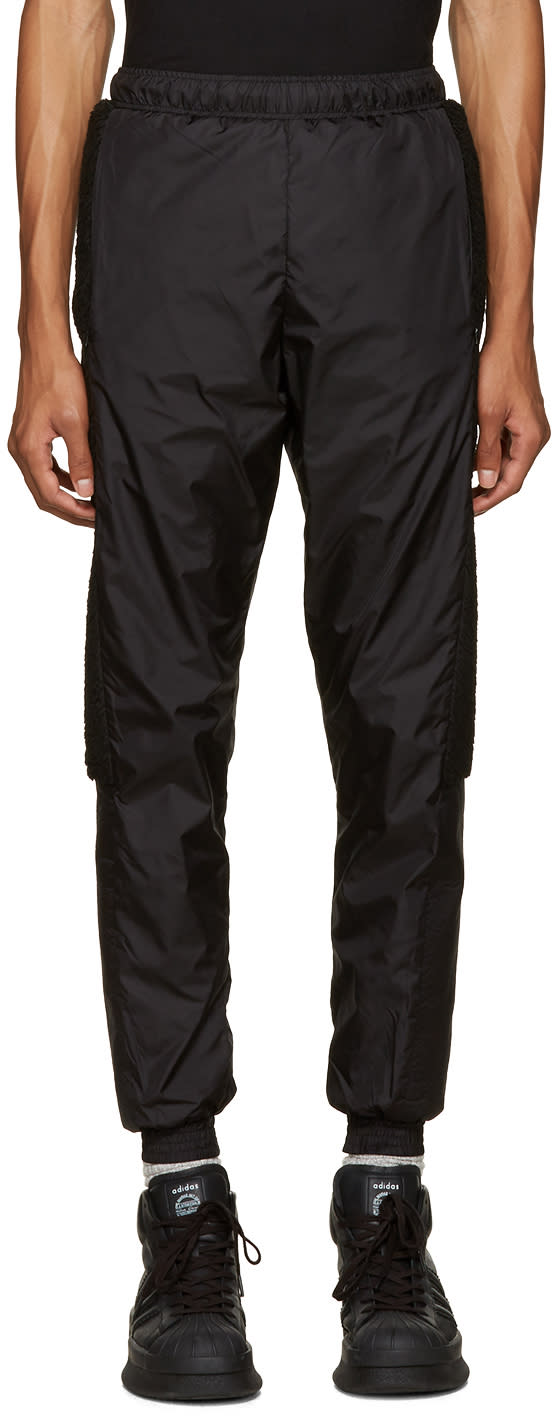 Cottweiler Black Fleece Trim Lounge Pants