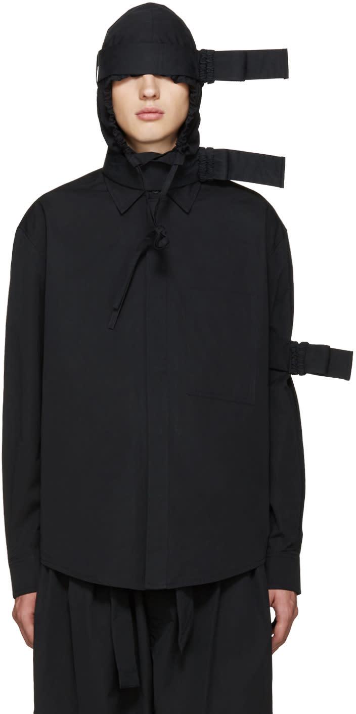 Craig Green Black Hooded Straps Jacket