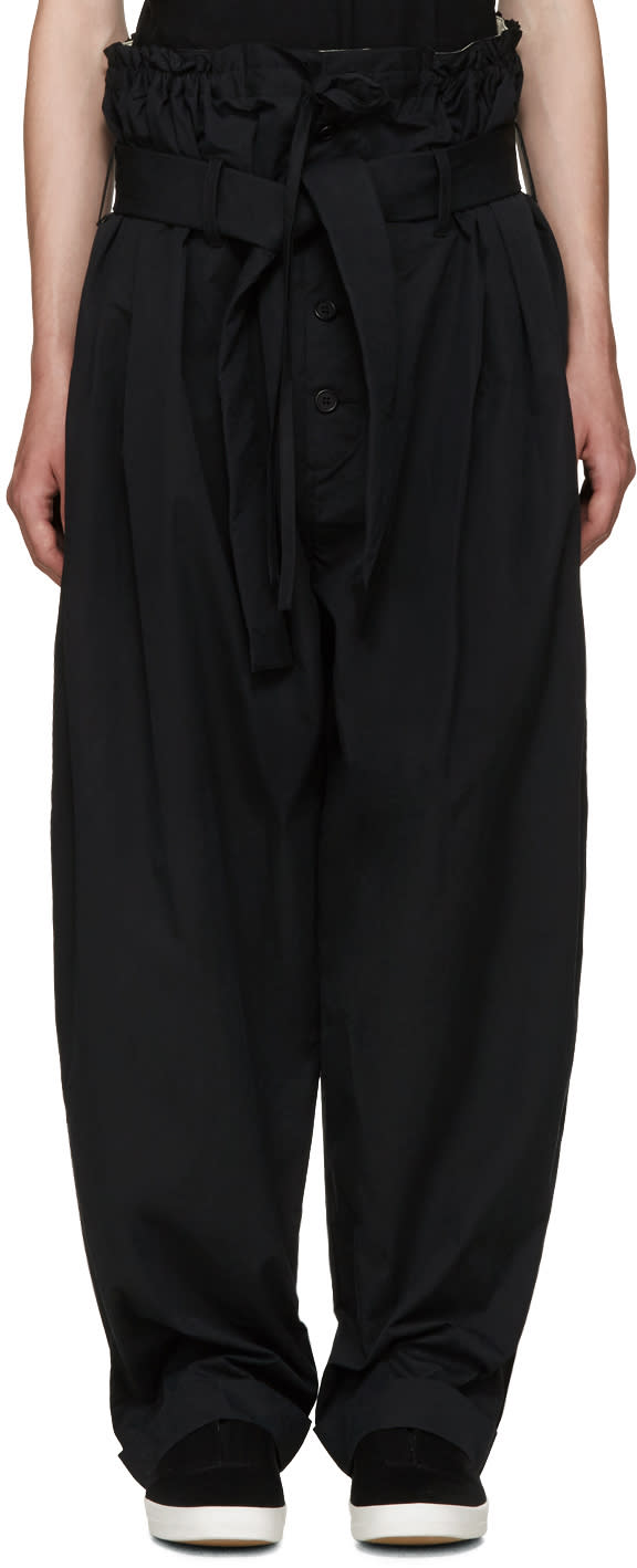 Craig Green Black Extreme Pyjama Trousers