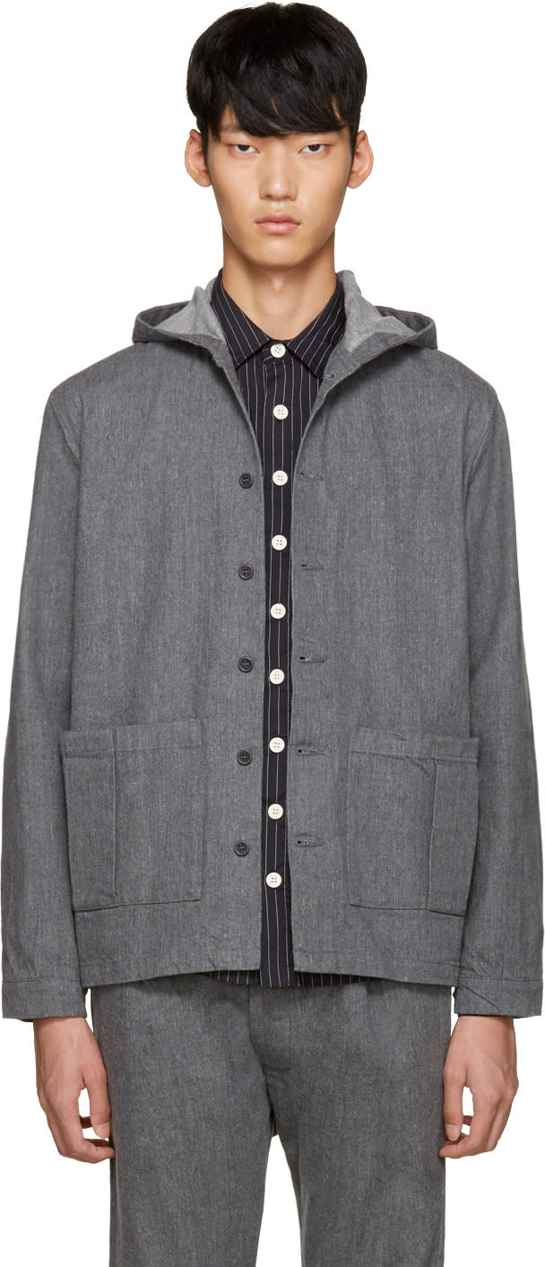 Sunnei Grey Selvedge Denim Jacket