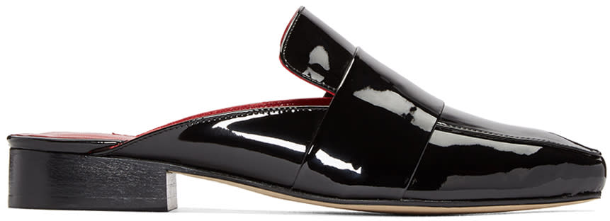 Dorateymur Black Patent Filiskiye Loafers