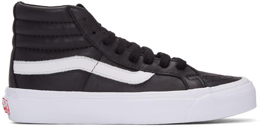 Vans Black Og Sk8-hi Lx Sneakers