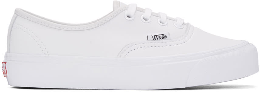 Vans White Og Authentic Lx Sneakers