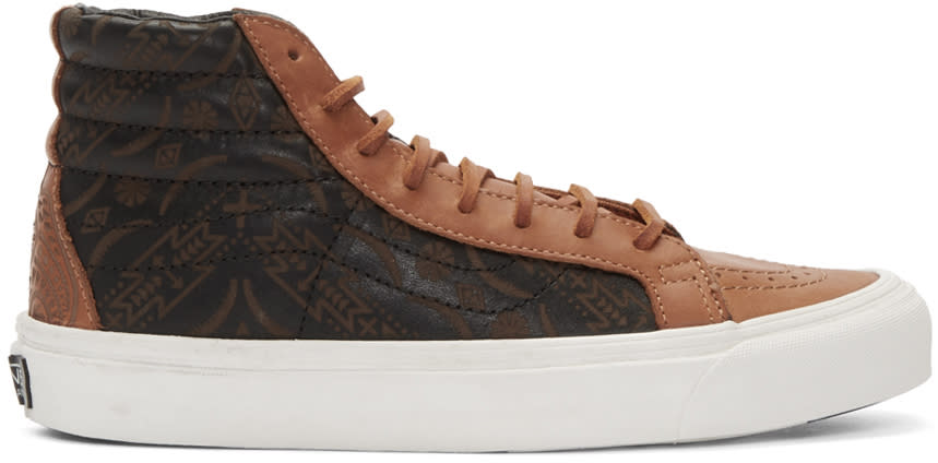Vans Brown Taka Hayashi Edition Og Sk8-hi Lx Sneakers