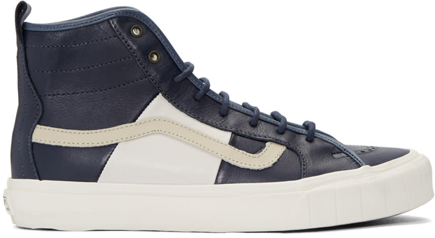 Vans Navy Taka Hayashi Edition Th Court Hi Lx Sneakers