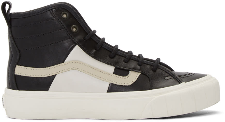 Vans Black Taka Hayashi Edition Th Court Hi Lx Sneakers