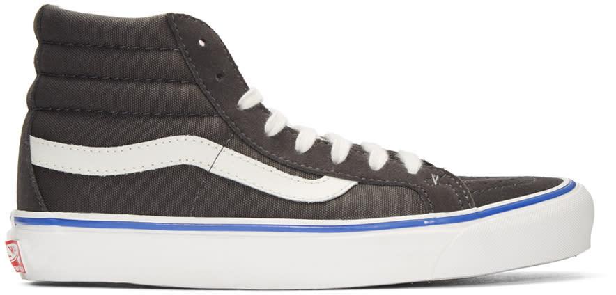 Vans Grey Suede Og Sk8-hi Lx Sneakers
