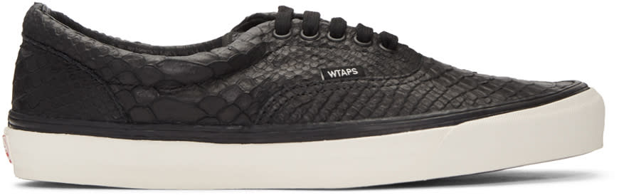 Vans Black Wtaps Edition Og Era Lx Anaconda Sneakers