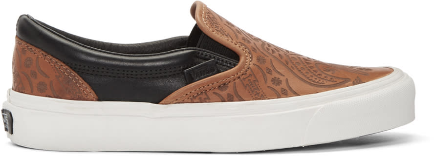 Vans Brown Taka Hayashi Edition Og Classic Sneakers