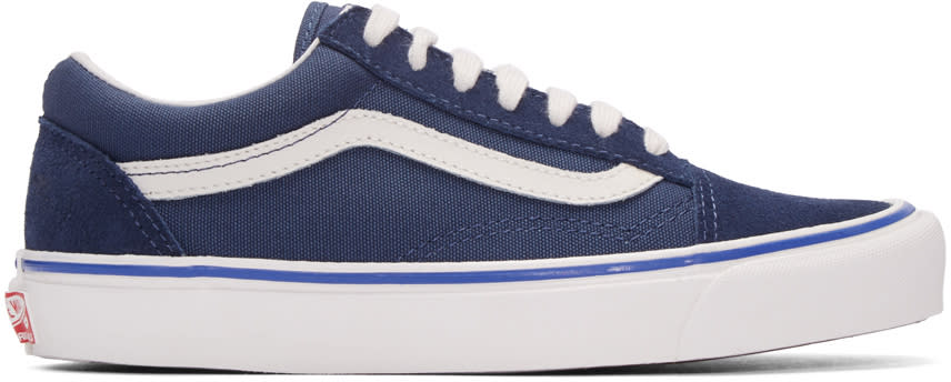 Vans Blue Og Old Skool Lx Sneaker