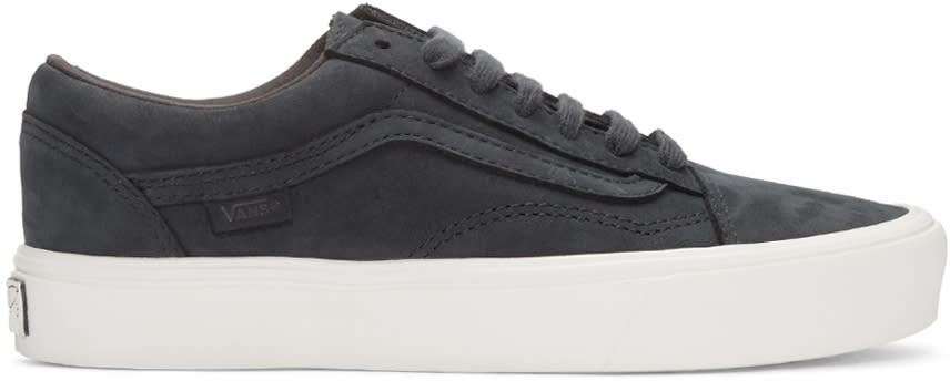Vans Navy Nubuck Old Skool Lite Lx Sneakers
