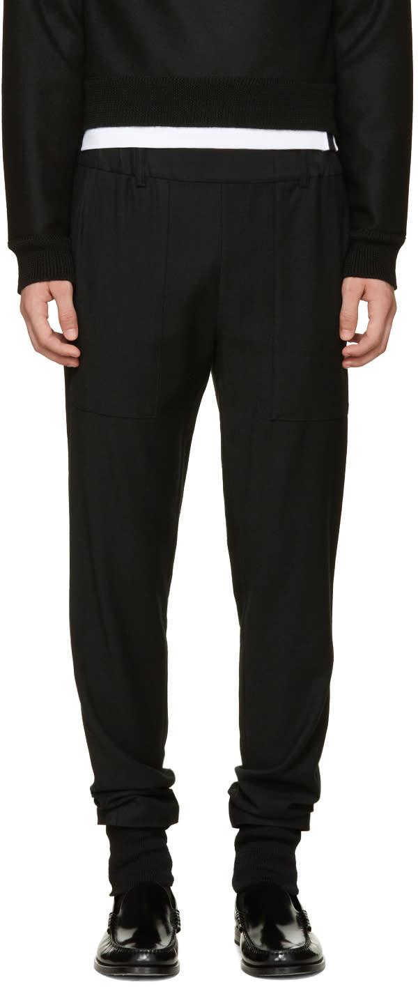 Stephan Schneider Black Frame Trousers