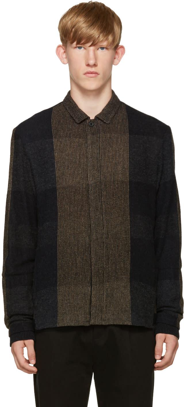 Stephan Schneider Navy Knit Shirt