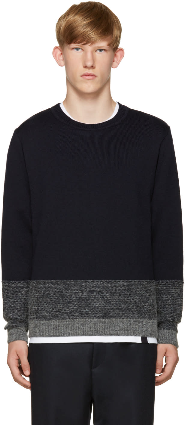 Stephan Schneider Navy Poplars Sweater