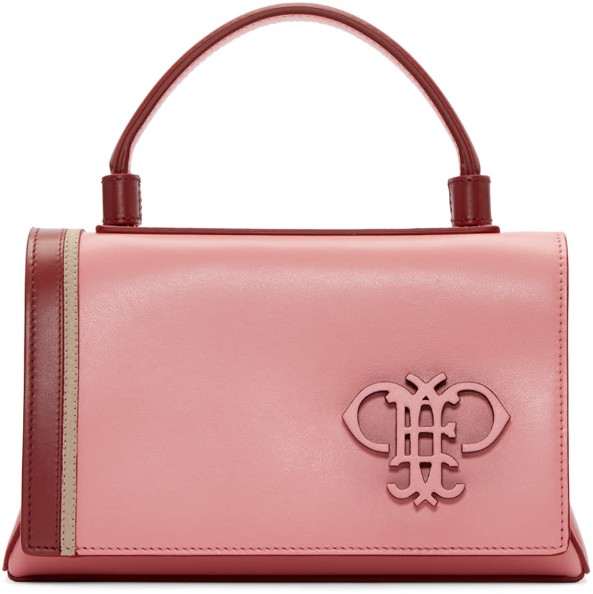 Emilio Pucci Pink Leather Bag