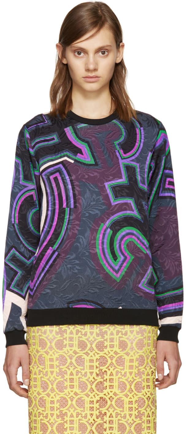 Emilio Pucci Multicolor Graphic Pullover
