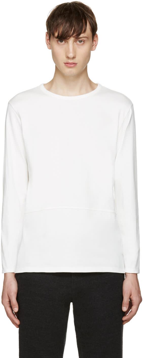 Blue Blue Japan White Jersey T-shirt