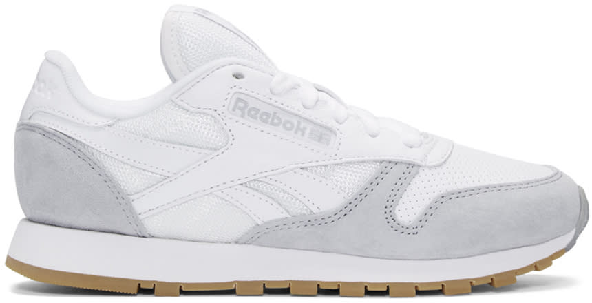 Reebok Classics White Cl Split Personality Sneakers