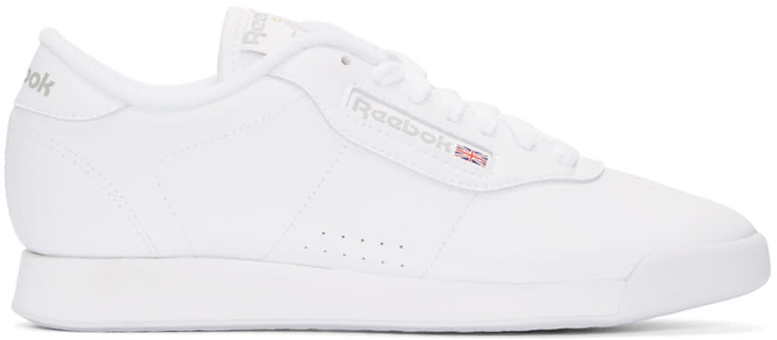 Reebok Classics White Leather Princess Sneakers