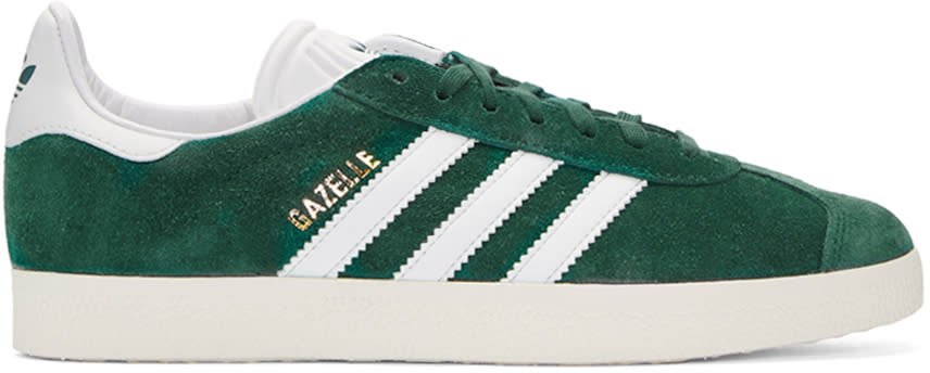 Adidas Originals Green Gazelle Sneakers