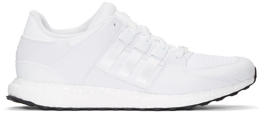 Adidas Originals White Equipment Support 93-16 Sneakers