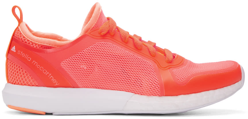 Adidas By Stella Mccartney Red Cc Sonic Sneakers