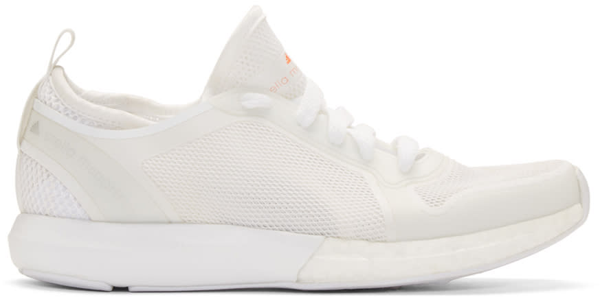 Adidas By Stella Mccartney White Cc Sonic Sneakers