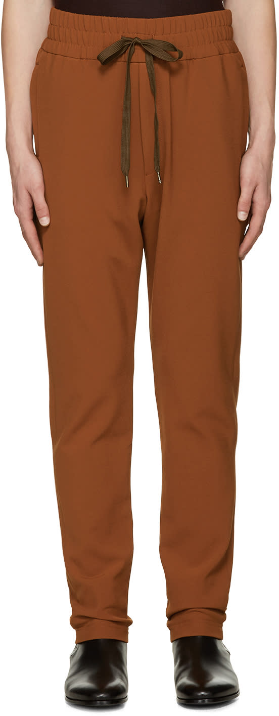 Cmmn Swdn Orange Stray Trousers