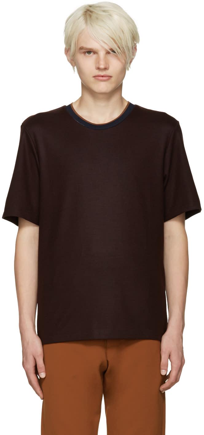 Cmmn Swdn Burgundy Ivor T-shirt