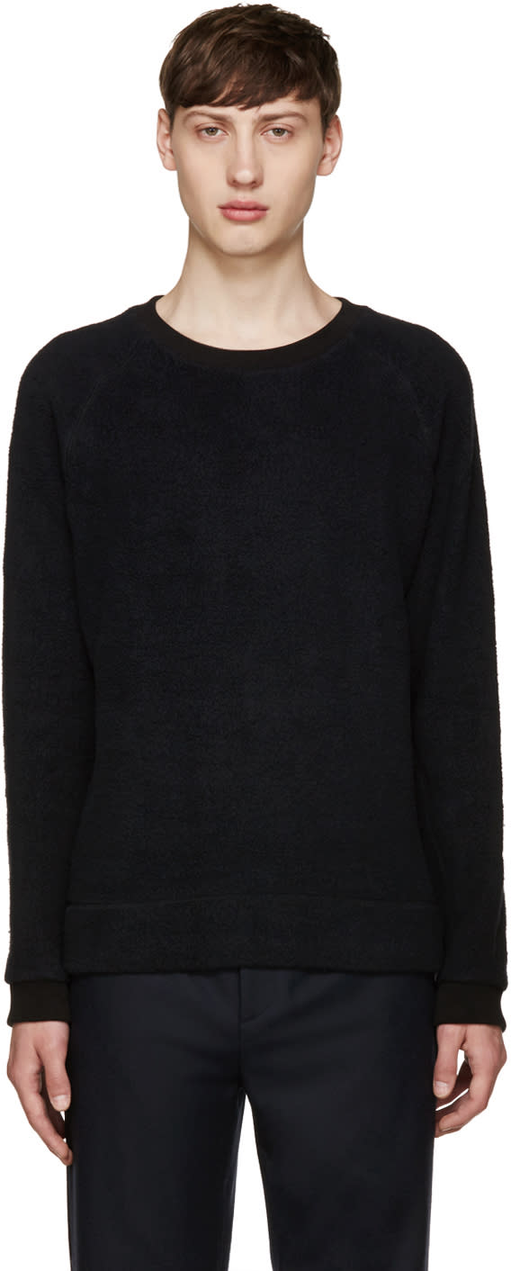 Fanmail Black Sherpa Pullover