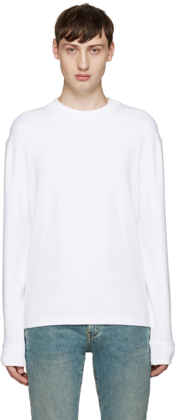 Fanmail White Long Sleeve T-shirt