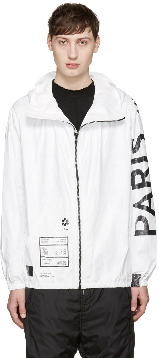Ueg White Paris Jacket